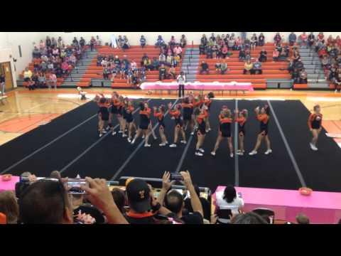 2015 Tabb High School Competition Cheer Chronology