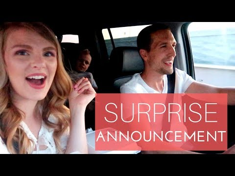 SURPRISE ANNOUNCEMENT!!
