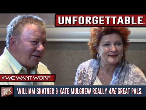 William Shatner & Kate Mulgrew Share an Unforgettable Moment with Dan Deevy  WeWantWorf