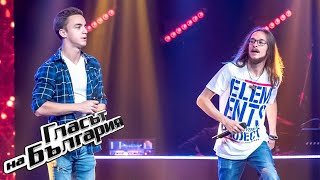 Pavel and Martin - Bodies | Blind Auditions | The Voice of  Bulgaria 2020
