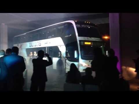 """Presentacion del nuevo """"Bus star DD"""" producido por Busscar Colombia para el Perú. (Full HD 1080p)"""