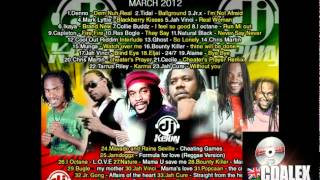 DJ KENNY CULTURAL REGGAE MIX MARCH 2012
