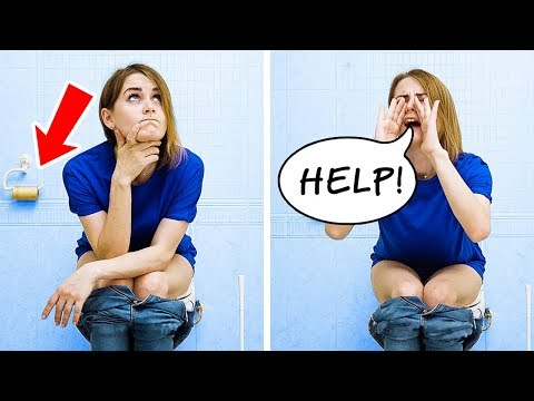 ME VS DAILY PROBLEMS || 20 CRAZIEST HACKS EVER