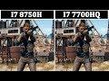 I7 8750H vs I7 7700HQ | Tested 13 Games |