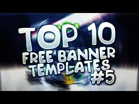 TOP 10 FREE YOUTUBE BANNER TEMPLATE #5 | Photoshop + Downloads