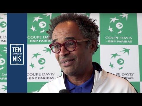 Coupe Davis 2018 - France / Pays-Bas - Interviews D'Après Tirage Au Sort | FFT