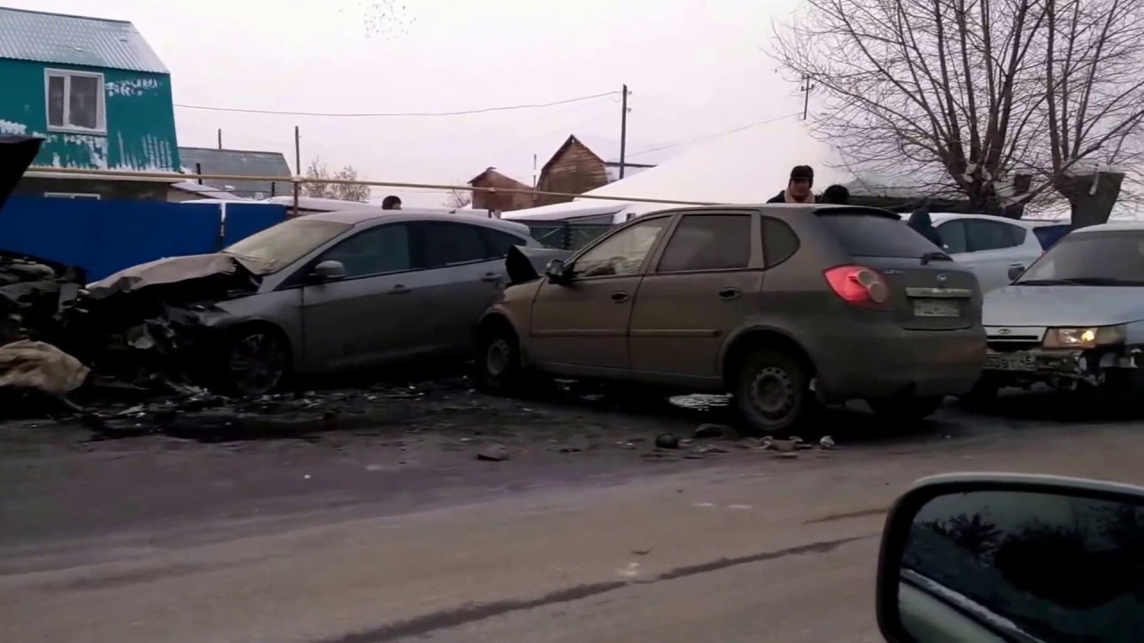 ДТП 15.11.16 г. Курган, ул. Бажова