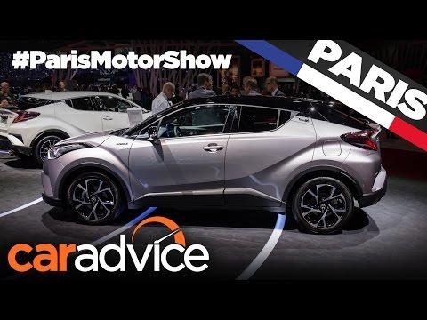 2017 Toyota C-HR Compact SUV | 2016 Paris Motor Show