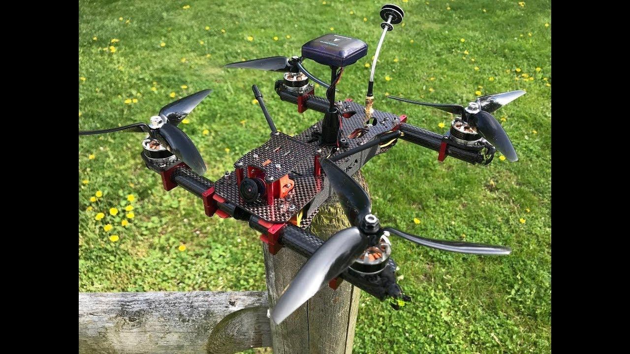 QuadKitchen- GPS Hybrid Drone Build - Part 1 of 4, The build