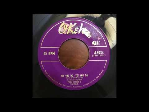 R&B New Breed Popcorn 45 Paul Gayten - Yes You Do, Yes You Do
