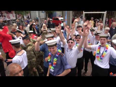 Crew Parade / Streetparade / Straatparade / Tall Ships Sail den Helder / Marinedagen 2017