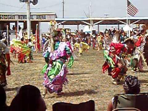 132nd Annual RoseBud Sioux Tribe Pow Wow South Dakota 2008