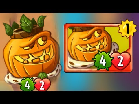 Plants vs Zombies Heroes - Haunted Pumpking Gameplay