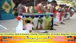 Jaijosh chenda melam Marriage stage
