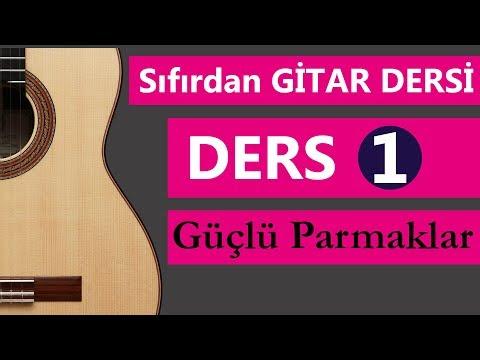 SIFIRDAN GİTAR DERSİ 1- 50 DERS Gitar Nasıl Çalınır