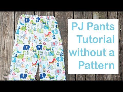 DIY PJ PANTS FOR BEGINNERS