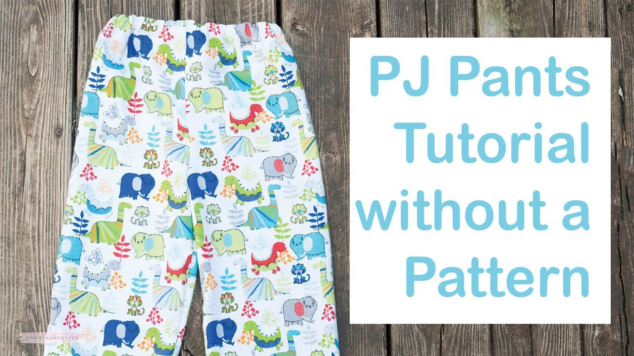 graphic relating to Printable Pajama Pants Pattern identify Do-it-yourself PJ Trousers FOR Inexperienced persons
