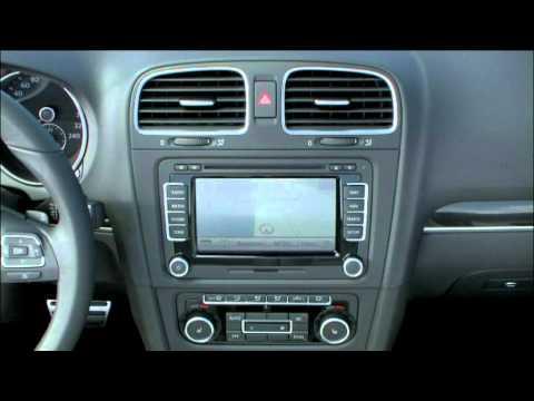 2012 Volkswagen Golf Cabriolet Interior Youtube