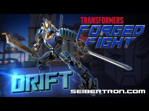 Transformers Forged To Fight DRIFT Exclusive In-Game Video