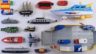 Water Vehicles - Boats & Ships for Kids Children Toddlers | Fun & Educational Learning Video | Siku