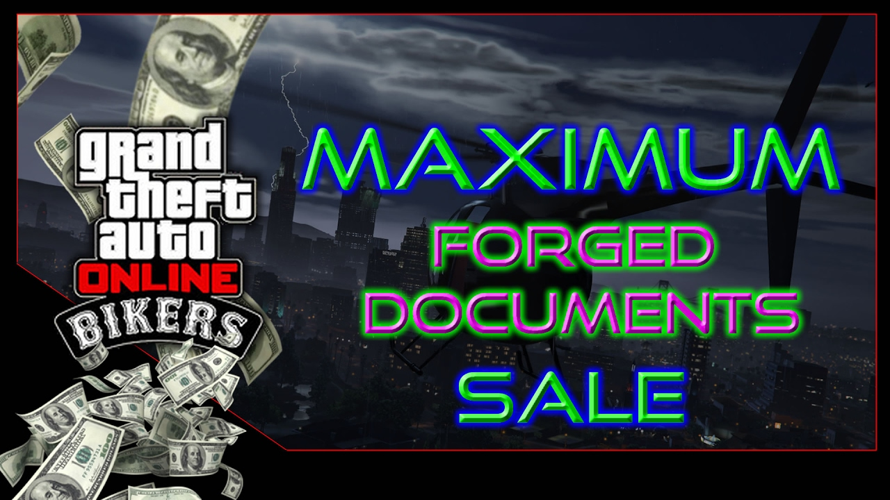Gta 5 online full forged documents business sale for Fenetre sale gta 5