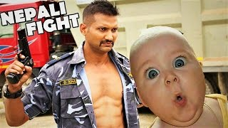 5 Epic Comedy Fights In Nepali Movies !!! TRY NOT TO LAUGH !!! How Funny???