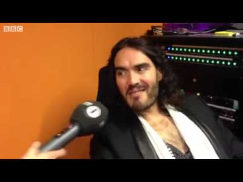 Russell Brand on Death Threats & Katy Perry