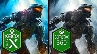 Halo 4 Xbox Series X vs Xbox 360 Comparison