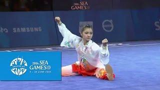 Download Video Wushu - Women's Optional Taijiquan (Day 2) | 28th SEA Games Singapore 2015 MP3 3GP MP4