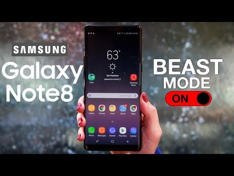 Activate BEAST MODE Samsung Galaxy Note 8 / Galaxy S8 / Galaxy S8+