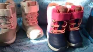 Детская обувь Carters! Обзор термоботинок!(, 2015-09-10T13:08:44.000Z)