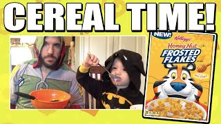 Cereal Time: Honey Nut Frosted Flakes!