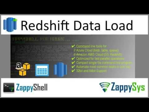 ZappyShell - Amazon Redshift Command line tools | ZappySys