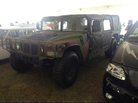 1991 Humvee M998 - 2016 Barrett-Jackson Auction in Palm Beach