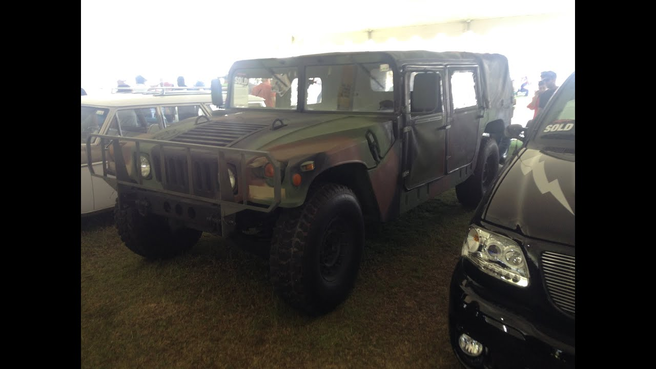 1991 Humvee M998 2016 Barrett Jackson Auction in Palm Beach