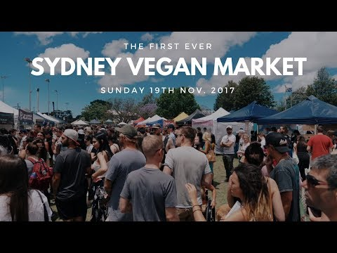 Sydney Vegan Market Launch