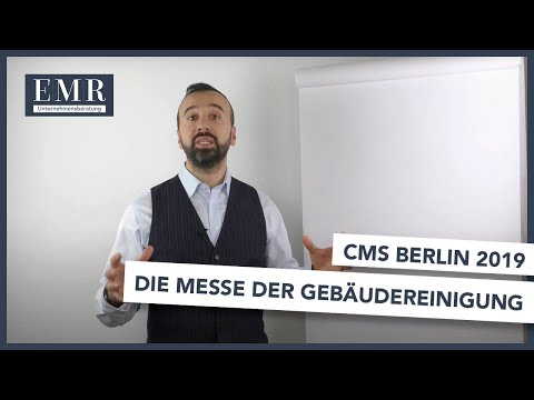 CMS Berlin - Die Gebäudereiniger Messe 2019