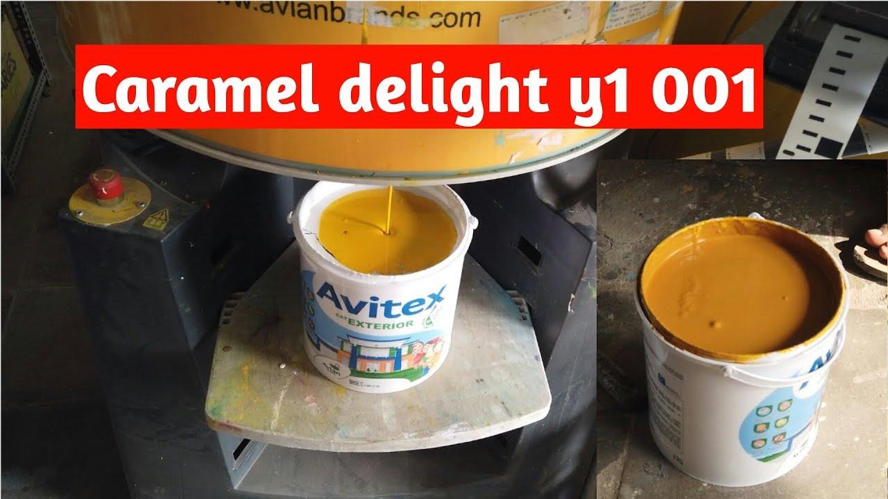 Cara Oplos Cat Tembok Avitex Exterior 5kg Base C Caramel Delight