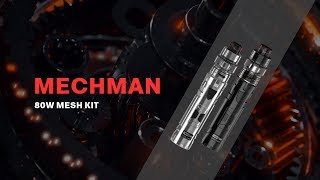 Rincoe Mechman Kit 80W | Rugged design and pocket size | Vapesourcing unboxing