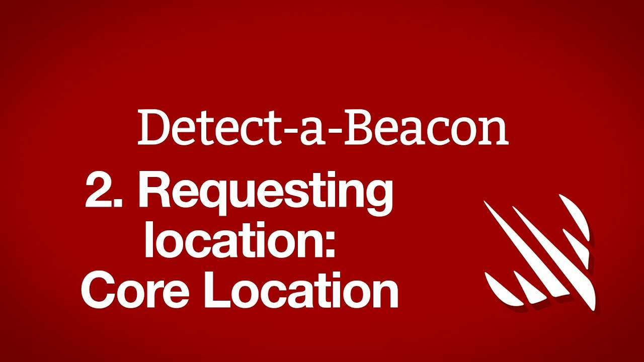 Requesting location: Core Location - a free Hacking with