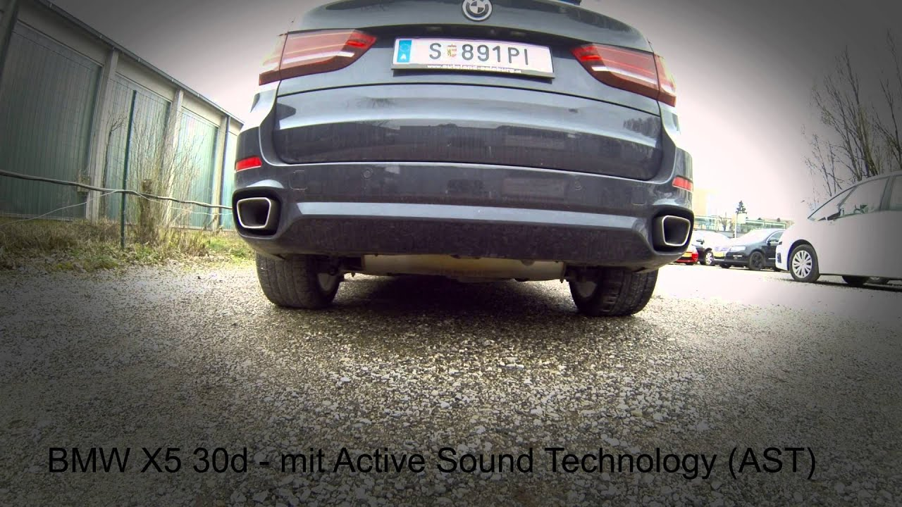 Active Sound for BMW X5 / X6 E70 / E71 - Diesel and Petrol