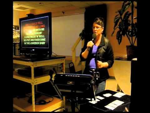 Shoreline Senior Center Karaoke - Bingo Part 2