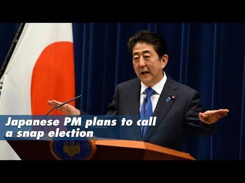 Live: Japanese PM to call for a snap election 日本首相安倍晋三欲提前大选