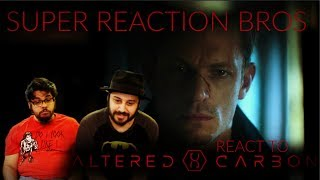 SRB Reacts to Altered Carbon Official Netflix Trailer
