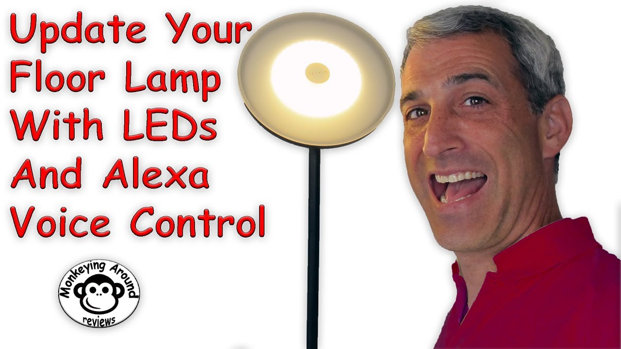 Voice Controlled Smart Led Floor Lamp By Teckin Review Youtube
