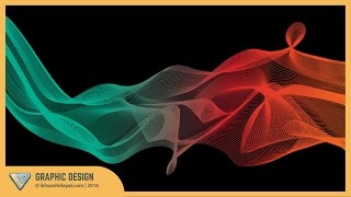 Graphic Design | How to create a colorful blending vector in Illustrator | Illustrator Tutorial