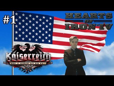 HoI4 - Kaiserreich - United States of Democracy - Part 1
