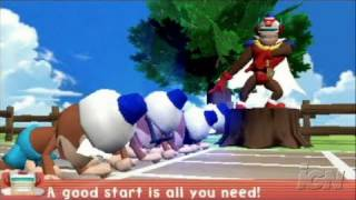 Ape Escape Academy Sony PSP Gameplay - Mini-Games!