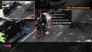 4SmartStreets teaser (v.2): Bicycles and pedestrians counter