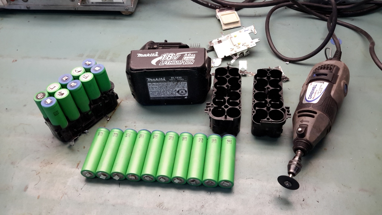How To Disassemble Recent Makita Battery Packs Youtube
